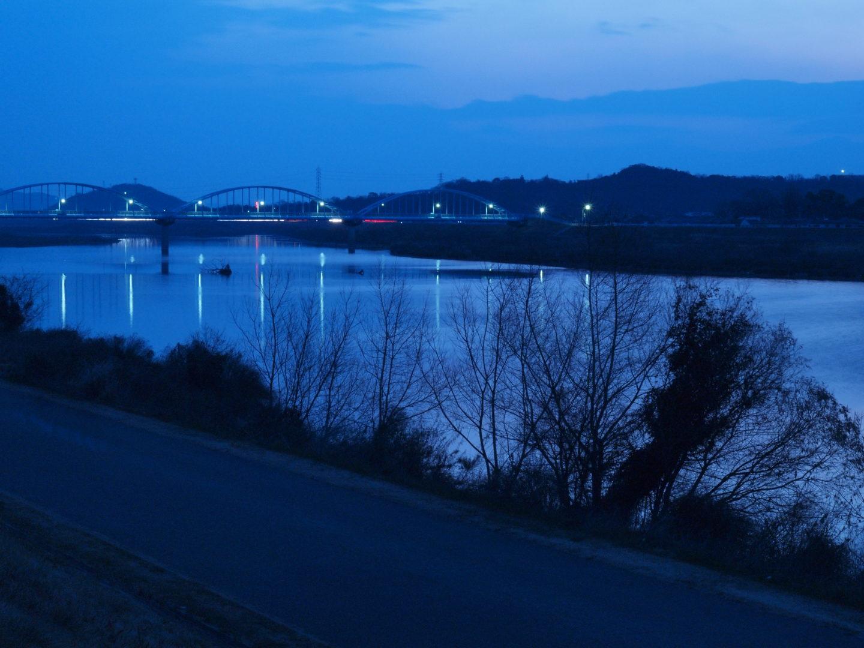 加古川河川敷と権現湖