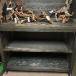 素材購入時のシュミレーター台を設置しました。